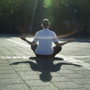 Meditation im Freuen